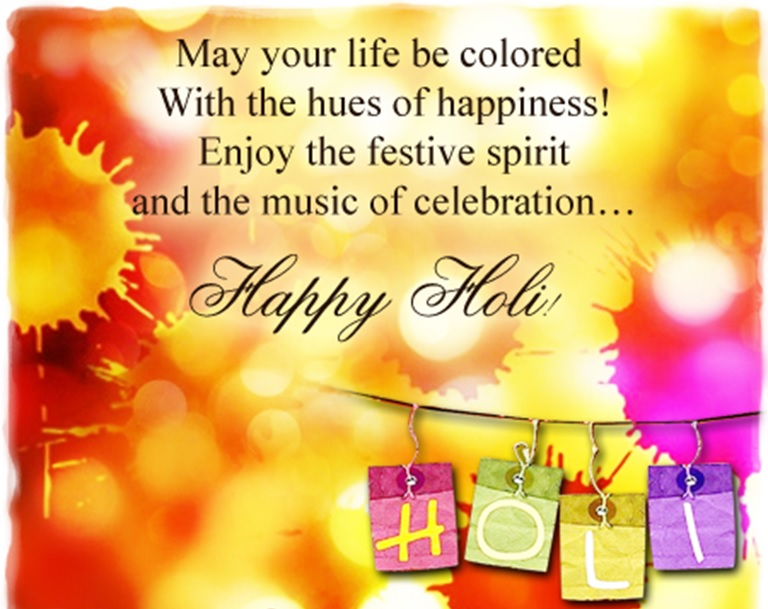 Elegant Images On Happy Holi